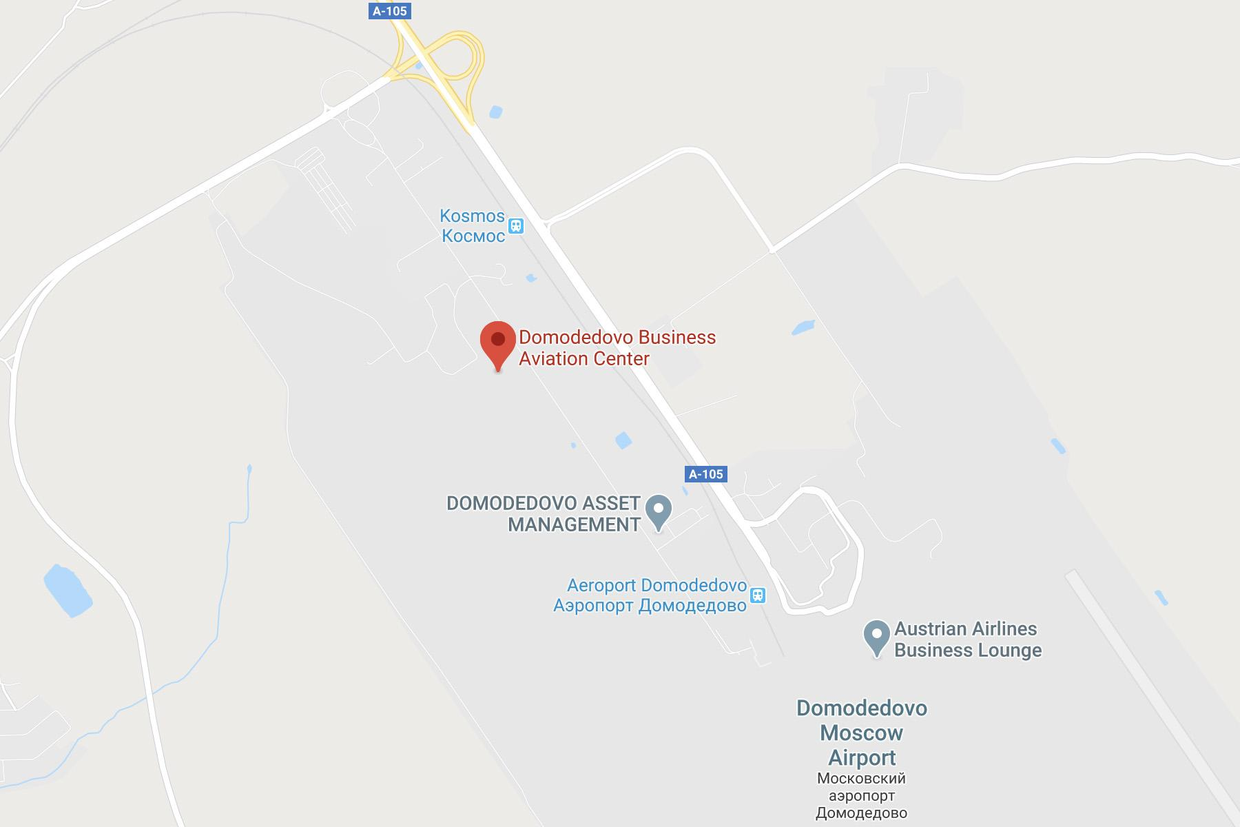 Domodedovo Location Map