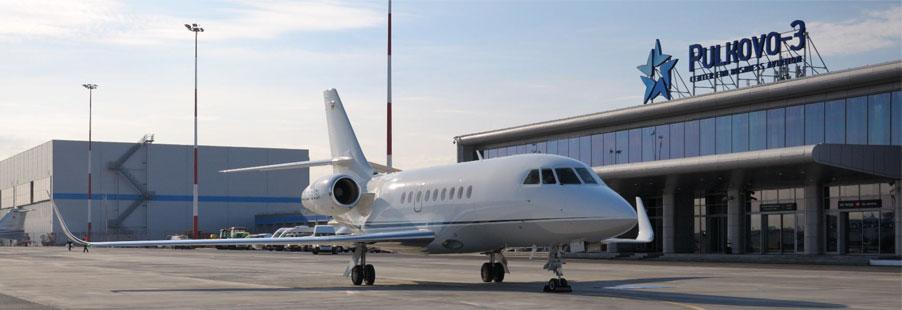 Private jet charter Saint-Petersburg