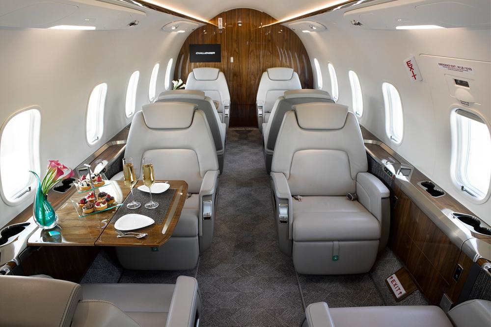 Bombardier Challenger 350 Interiour