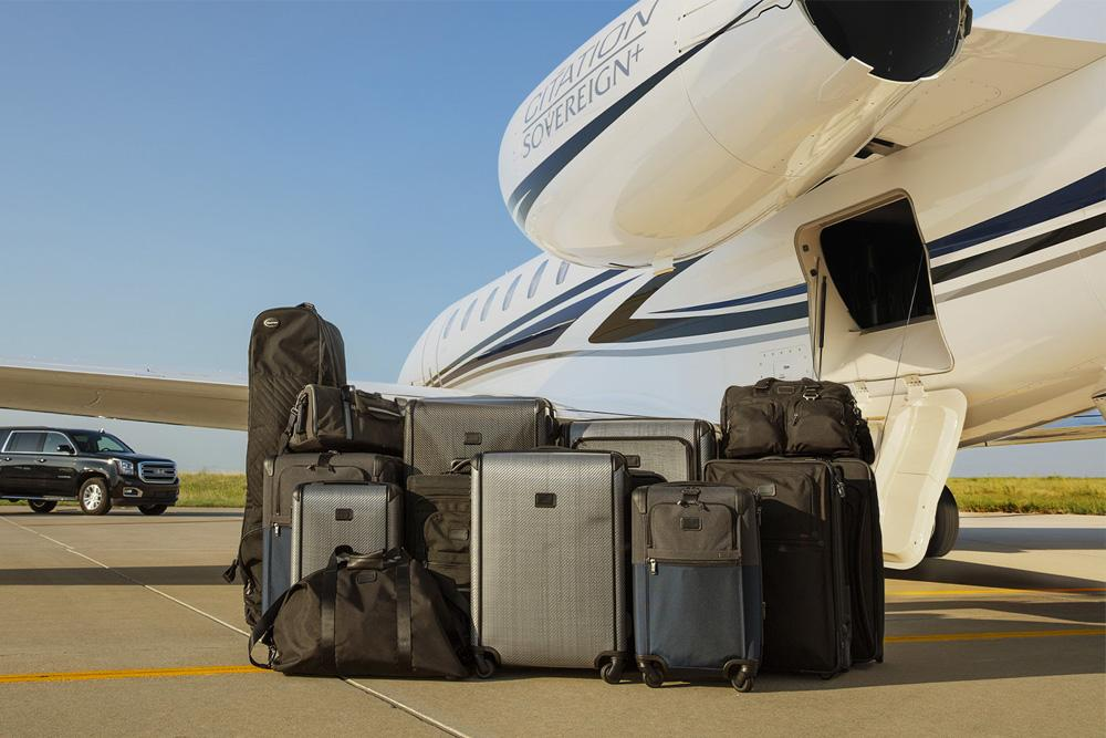 Cessna Citation Sovereign baggage