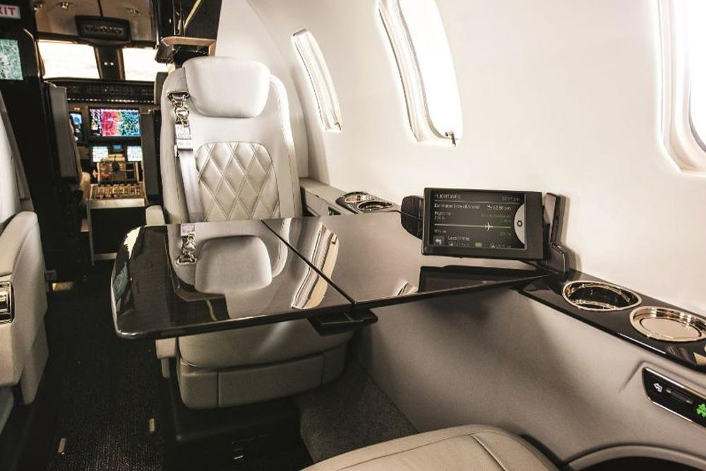 Bombardier Learjet 75 Liberty interior