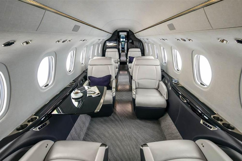 Cessna Citation Longitude Interiour