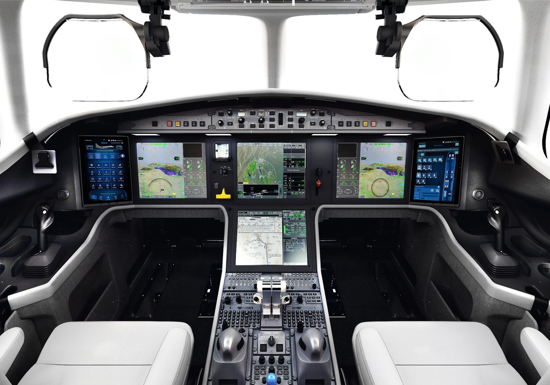Falcon 6X private jet