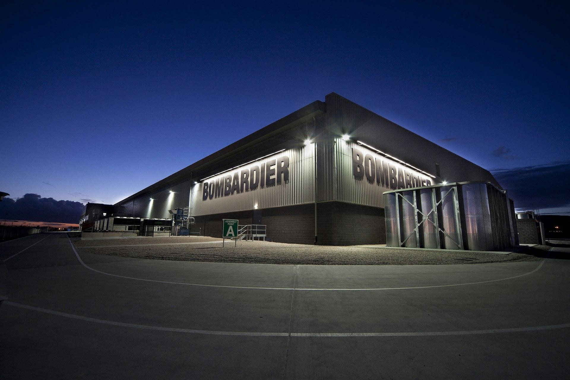 Bombardier deliveries first quarter